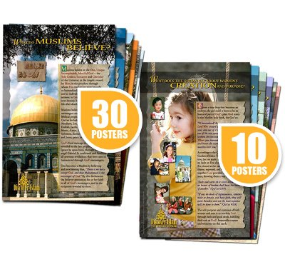 Picture of Discover Islam 40 Poster Combo Set