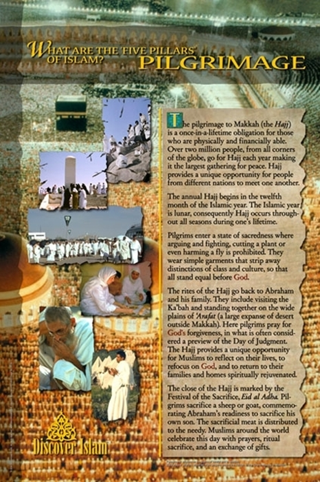 What are the five pillars of Islam? Pilgrimage