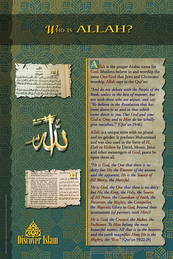 Picture of Who is Allah?